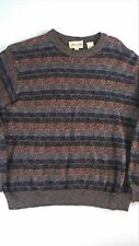Pronto Uomo Firenze Sweater Mens SZ M-XL Wool Blend Italy Made Pullover Italian