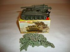 FRENCH DINKY 813 AMX WITH 155MM ABS GUN - EXCELLENT in original BOX
