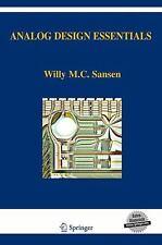 Analog Design Essentials: By Willy M C Sansen