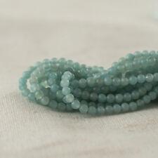 Di alta qualità grado A naturale AMAZZONITE Semi-Preziose Pietre Preziose Perle Rotondo - 2 mm