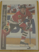 1994-95 Upper Deck UD Electric Ice #322 Jeremy Roenick Blackhawks Hockey Card
