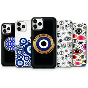 Evil Eye Phone Cases SUN AND MOON Chakra Zodiac Symbol Mason covers iPhone 12