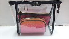 Victoria's Secret Pink Cosmetic Bag Trio Set