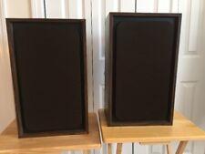 Vintage Avid Model 100 Floor / Bookshelf Two-Way Audiophile SpeakersMade in US