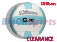 *CLEARANCE NEW* WILSON SOFT TOUCH VOLLEY BALL - BLUE/WHITE