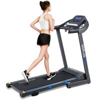 Goplus 2.25HP Folding Treadmill Electric Motorized Power Running Fitness Machine