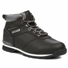 Timberland Splitrock 2 Hiker Black Mens Leather BOOTS 8 UK 42 EU 8.5 US