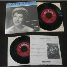 GEORI BOUE - Les Noces de Figaro Rare French EP Odeon Recital Opera NM