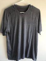 Lululemon Men's Metal Vent Tech T-Shirt Gray Size Large L Short Sleeve
