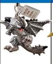 Bandai Monster hunter G1 G Phone Strap Mascot Figure Rathalos Silver