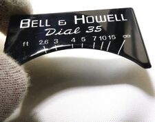 decal logo only for Vintage Bell & Howell Canon Dial 35 Camera
