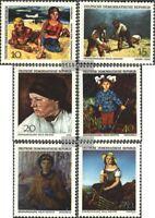 DDR 1393-1398 (kompl.Ausgabe) postfrisch 1968 Gemäldegalerie