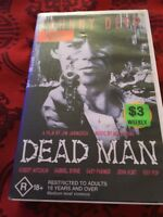 DEAD MAN - JOHNNY DEPP -  ORIGINAL UNCUT THE FILM THEY TRIED TO BAN RARE VHS