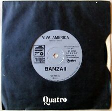 "BANZAI 45 Top Rare CHILE Ed. 7"" CLAUDE FRANCOIS Les CLODETTES 1976 Banzaii"
