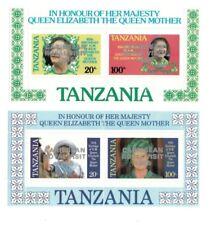 Tanzania - Royal Visit Overprint - Souvenir Sheets - MNH