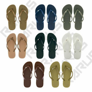 Havaianas Crystal Glamour Original Brazil Women Flip Flops All Sizes 8 Colors!