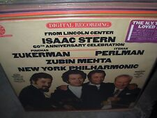 MEHTA / STERN / ZUKERMAN / PERLMAN bach vivaldi mozart ( classical ) PROMO