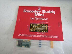Decoder Buddy Mini for 21PNEM decoders Nice!   Bob The Train Guy