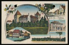 651929) Gruss aus Karte Rheda