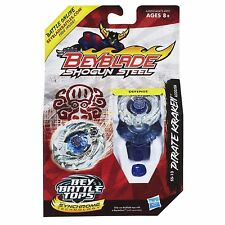 Beyblade A230JSB Shogun Steel Beybattle SS-13 Pirate Kraken Tops NEW HTF