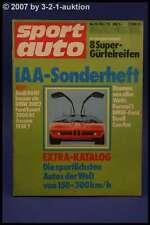 Sport Auto 10/73 BMW 02 Escort Steinmetz Manta + Poster