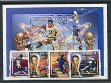 Niger 1258/61 Block 94 postfrisch / Fußball ..............................1/3674