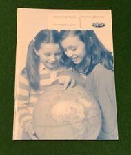 Ford Satnav Navigation Guide 2007 on Handbook. FOCUS RS MONDEO S-MAX CG3537