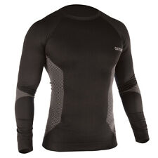 Oxford Thermal Motorcycle Base Layer Motorbike Under Top Sports Shirt Black