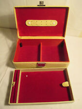 alte Schmuckschatulle Kiste Schachtel Etui  , Schlangenleder-optik 1950er Jahre