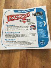 Monopoly Zapped Replacement Spare Instructions Rules O223
