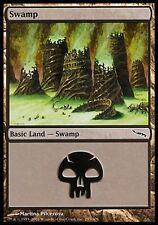 1x Swamp #297 Mirrodin MtG Magic Land Common 1 x1 Card Cards