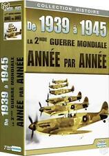 De 1939 à 1945 La 2ème Guerre Mondiale 7 DVD Année par Année NEUF