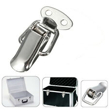 Stainless Steel Spring Loaded Clamp Clip Case Box Chest Trunk Toggle Latch Catch