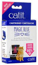 Catit Magic Blue Purifier Cartridges for Litter Boxes Reusable Cartridge &2 Pads