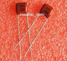 10PCS CBB Metallized Film Capacitor 0.1uF 104J 100V 100nF P=5MM