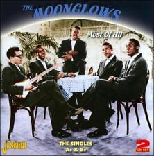 The Moonglows Most of All The Singles A&B's CD NEW SEALED JASMINE RECORDS OOP