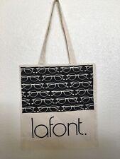 Lafont Tote Bag Eyeglasses Theme Lafont Logo