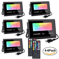 20W RGB LED Flood Light Outdoor lamp Garden 20 Colors Changing Remote Control