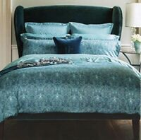 Henry Christy Trellis Teal Pillowsham Pair