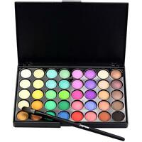 40 colores Cosmetic Matte Eyeshadow Eye Shadow Makeup Palette Shimmer Set New OE