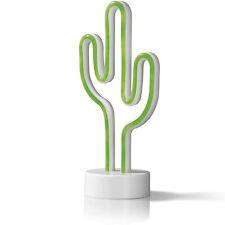 EASYmaxx Dekolampe Kaktus in Neon-Optik Dekoleuchte Dekolicht LED Kaktuslampe