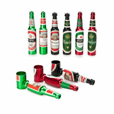 Pipe Smoking Tobacco Herb Metal Aluminum Beer Bottle Portable Pocket Gift