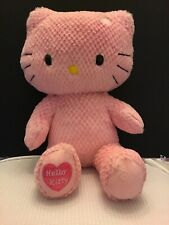 Build A Bear Pink Hello Kitty Plush stuffed doll animal No Bow 18""