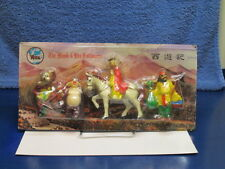 1960's THE MONK & HIS FOLLOWERS 4 FIGURE PLAY SET VITA MINT/SEALED MOC - RARE!