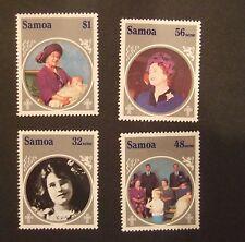 Samoa 1985 85th Birthday Queen Mother  MNH UM unmounted mint