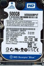Western Digital WD5000BPVT-55HXZT3 500GB DCM: HB0T2BN