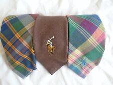 Lot of 3 Polo Ralph Lauren Vintage Ties Mens neckwear