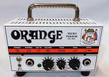 Orange Amplifier Micro Terror MT20 20 Watt Hybrid Guitar Amp Head w/Power Supply