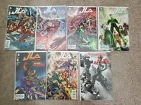 Justice League Of America Comic Lot #1-7 Hitch Harley Variant (2015)