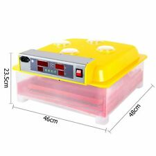 Egg Incubator Fully Automatic Digital LED Turning Chicken Duck Eggs Poultry 60